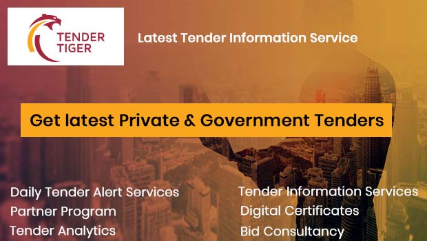 Tender Tiger - Government and Private Tenders Online Details