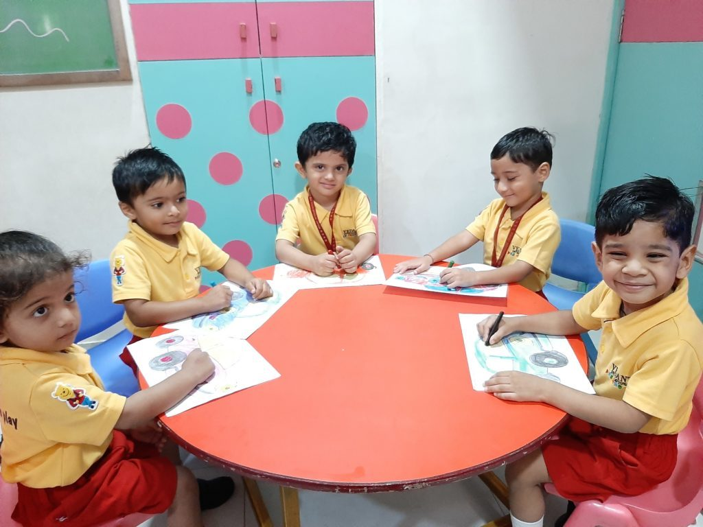Vedant International Preschool & Day Care Center in Maninagar, Ahmedabad